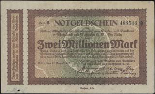 Германия. Кёльн. 2 миллиона марок. 1923 г.