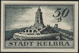 Германия. Кельбра. 50 пфеннигов. 1921 г.