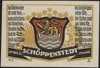 Германия. Шёппенштедт. 50 пфеннигов. 1921 г.