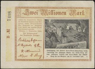Германия. Леннеп. 2 миллиона марок. 1923 г.