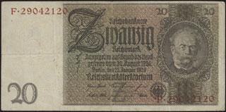 Германия. 20 марок. 1929 г.
