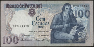 Португалия. 100 эскудо. 1985 г.