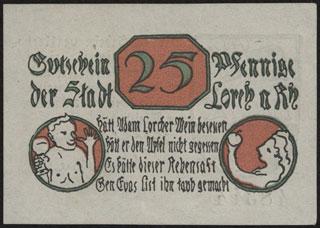 Германия. Лорх. 25 пфеннигов. 1920 г.