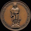 «В честь установления второй статуи Наполеона на Вандомской колонне. 28 июля 1833»