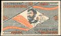 Билет первой Всесоюзной ОЗЕТ-Лотереи. 50 копеек 1927 г.