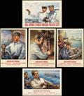 Серия почтовых карточек «Досфлотовцы»: