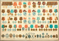 <b>Плакат «Медали и знаки отличия, присвоенные нижним чинам»</b>