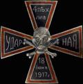 Знак 4-й пехотной Ударной дивизии