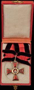 Знак ордена Святого равноапостольного князя Владимира IV степени за 25 лет выслуги для военнослужащих