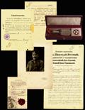 Лот из восьми предметов, принадлежавших Михаилу Викторовичу Цыгальскому: