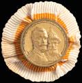 Фрачная медаль «В память 300-летия Царствования Дома Романовых 1613-1913»