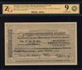Республика Армения. Эриванское отделение Государственного Банка. Чек 5000 рублей 1919 г.