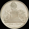 «В память командования Петром I четырьмя флотами при Борнгольме. 5-14 августа 1716»