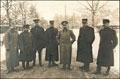 <b><i>Таганрог.</i></b> <b>Фотография А.И. Деникина с военными представителями стран Антанты при ставке Верховного главнокомандующего</b>