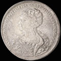 Рубль 1725 г.