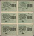 Расчетный знак РСФСР 1000 рублей 1919 г.