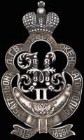 <b>Знак за службу в 1-м батальоне Лейб-гвардии Преображенского полка</b>