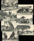 Лот из семи фото-открыток с видами Андижана:
