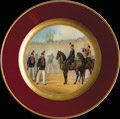 Тарелка «Лейб-Гвардии 1-ый стрелковый Его Величества батальон»