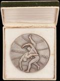 Медаль участника Чемпионата мира по борьбе, вольная борьба