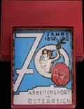 «В память 70-летия рабочего спорта в Австрии»