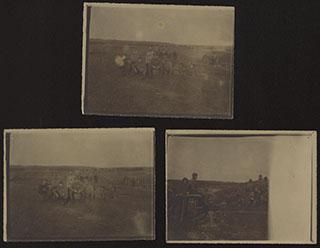 Лот из фотографий военных на фронте. 3 шт.