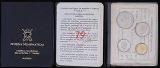 Испания. Лот из монет 1975 г. 4 шт. В оригинальной упаковке