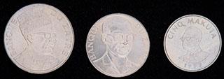 Заир. Лот из монет 1976-1978 гг. 3 шт.