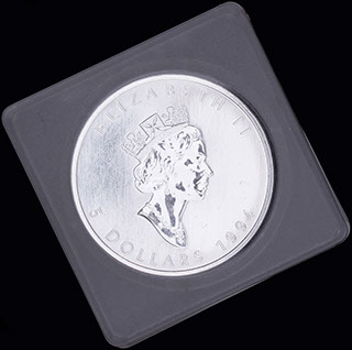 Канада. 5 долларов 1994 г. Серебро. Proof