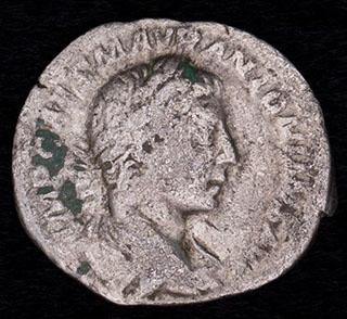 Античная монета. Серебро