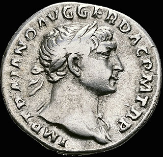 Римская империя. Траян. Денарий 103-111 гг. RIC 147a. Серебро