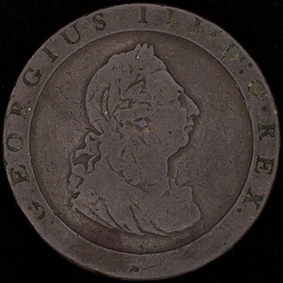 Великобритания. 1 пенни 1797 г. Медь