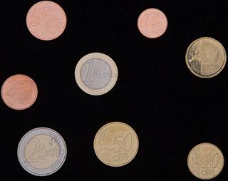 Испания. Лот из монет 2018 г. 8 шт.