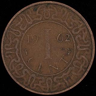 Суринам. 1 цент 1962 г. Медь