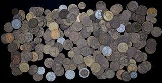 Лот из советских монет. 1 кг.