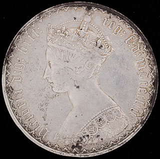 Великобритания. 2 шиллинга (1 флорин) 1853 г. Серебро