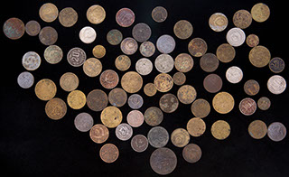 Лот из монет 1928-1986 гг. 72 шт.