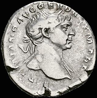Римская империя. Траян. Денарий 103-111 гг. RIC 118 (aureus). Серебро