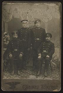 Групповая фотография военнослужащих 171-го запасного пехотного батальона