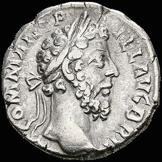 Римская империя. Коммод. Денарий 189 г. RIC 201. Серебро