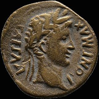 Римская империя. Август. Асс 15-10 гг. до н.э. RIC 230. Бронза