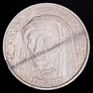 Сан-Марино. 1 000 лир 1977 г. Серебро