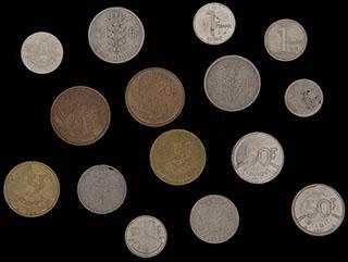 Бельгия. Лот из монет 1949-1991 гг. 15 шт.