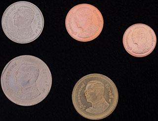 Таиланд. Лот из монет 2008 г. 5 шт.