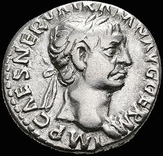 Римская империя. Траян. Денарий 98-99 гг. RIC 11. Серебро