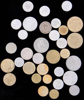 Польша и Украина. Лот из монет 1949-2011 гг. 33 шт.