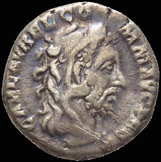 Римская империя. Коммод. Денарий 191 г. RIC 251. Серебро