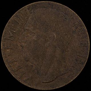 Италия. 10 чентезимо 1941 г. Алюминиевая бронза