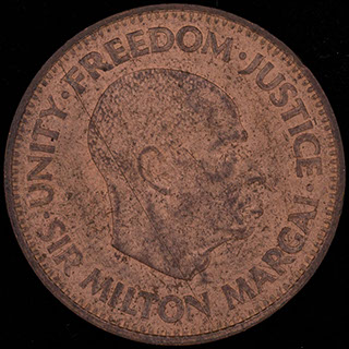 Сьерра-Леоне. 1/2 цента 1964 г. Медь