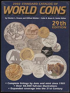«Standard Catalog of World coins». 29-е издание